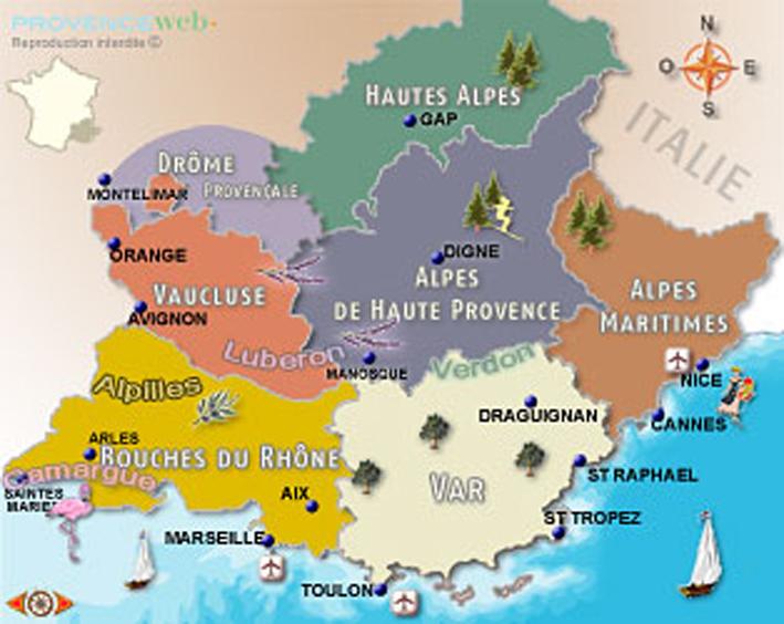 Provence situation et int r ts - Accrobranche salon de provence ...